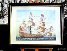 Gegenständliche Original-Lithographien (1950-1999) mit Marine- & Seefahrt-Motiv