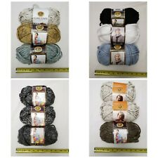 3 Skeins Of Lion Brand Hometown Yarn! Pick Your Colors!