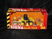 Maisto Tonka Road Crew NEW Construction Bulldozer Die Cast Metal Motorized Wheel