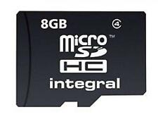 Integral Micro Secure Digital SD HC MEMORY CARD 8GB Cellulare Fotocamera