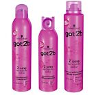 (19,95€/L)Schwarzkopf got2b 2 sexy BIG VOLUME Haarspray / SPRAY MOUSSE Hairspray