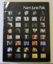 Video Artist NAM JUNE PAIK 1982 Monograph John Hanhardt Whitney Museum