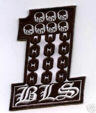 BLACK LABEL SOCIETY MEMBER CLUB BLS #1 PATCH BLS SKULL HEAD NUMBER ONE PATCH