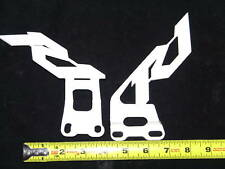 2001 2002 2003 2004 2005 2006 YAMAHA R1 HEEL GUARDS WHITE