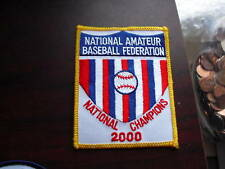 Embroidered Patch National Amateur Baseball Federation