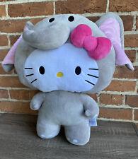 Fiesta Hello Kitty Circus Elephant Jumbo Plush Animal 19 Inch Pillow Sanrio 2014