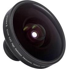 Opteka Vortex Series 0.2x Panoramic Fisheye Lens for Canon VIXIA HR10, HF11 HF20