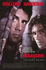 ASSASSINS (1995) ORIGINAL MOVIE POSTER  -  ROLLED