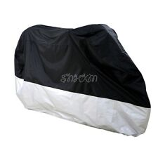 Motorcycle Outdoor Sun Rain Dust Cover Fit For Harley Davidson Softail Fat Boy