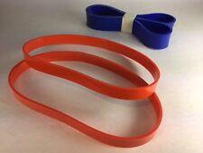 """Set of 2 URETHANE BAND SAW TIRES & 1 Wood Belt  for DELTA 16"""" MODEL 28-560"""