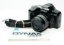 Minolta Dynax 5000i AF 35mm Film SLR Camera & 35-80mm AF Lens (2199BL)