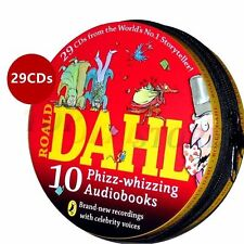 Roald Dahl Audio Books Collection 10 Stories on 29 Cd's in Zip CD Tin