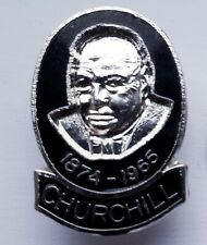 Winston Churchill 1874-1965 pin / lapel badge