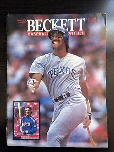 Juan Gonzalez Beckett Magazine 1994 Issue #108