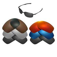 Walleva Replacement Lenses for Oakley Taper Sunglasses - Multiple Options
