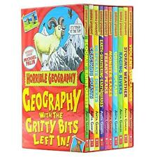 Horrible Geography 10 Books Collection Box Set By Anita Ganeri Paperback new