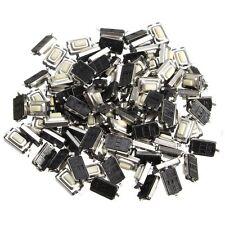 100pcs SMD Micro Interruptor Momentáneo Botón Pulsador Táctil 2 Pins 6x3x3mm