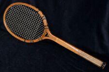 New listing Antique Wood 1930 Spalding Diana Tennis Racket Unusual Model