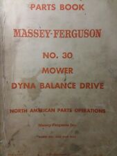 Massey Ferguson Mf 30 Three-Point Tractor Implement Sickle Mower Parts Manual