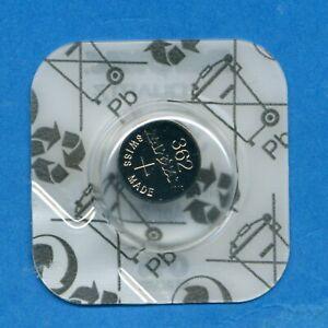 1 x 362 SR721SW SR58 V362 D362 Rayovac Silver Oxide Watch Cell Battery 1.55V