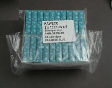 KAWECO Cartuchos 20 paquetes tinta turquesa/paradiesblau NUEVO #