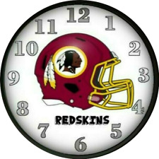 Washington Redskins Wall Clock Kids Bedroom Decor Dorm Decor Football Nfl