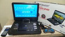 "DBPOWER Digital Multimedia 16"" Portable EVD TFT LED TV / DVD With Swivel - F623"