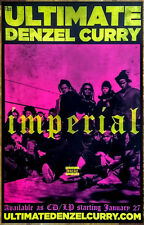 DENZEL CURRY Imperial 2017 Ltd Ed New RARE Poster +FREE Hip-Hop Rap Poster!