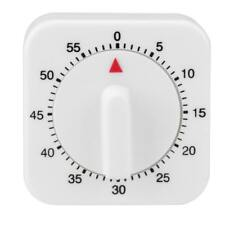 Plastic 60 Minutes Manual Mechanical Reminder Alarm Clock Kitchen Cooking Timer