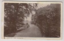 Lancashire postcard - Chorley, The Walletts - RP - Tuck