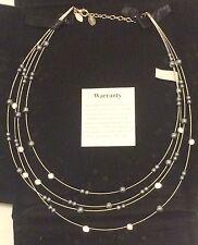 Nolan Miller Multi Strand Illusion Floating Necklace