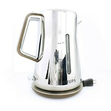 Rare Krups Silver Arts Collection BW600 Cordless Electric Kettle Collectors Item