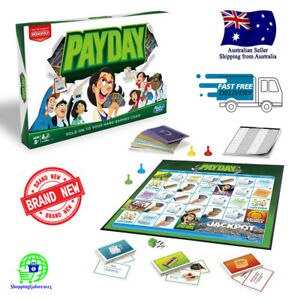 PAYDAY BOARD GAME HASBRO Family Nights 2-4 Players Age 8+ Brand New & Sealed