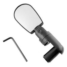 Adjustable Bike Bicycle Driving Cycling Rear View Mirror Road Vision Lens+Handle
