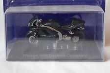 MOTO TRIUMPH 955i DAYTONA CENTENARY série grandes motos à collectionner  ALTAYA