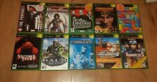 JEUX XBOX-The Punisher, Tetris, Deus Ex, commandos 2, Second Sight, Tony Hawk