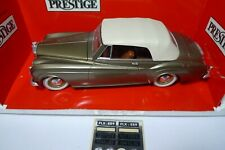 Solido Prestige 1/18 Bentley S2 Convertible Light green Gold - Bronze métal