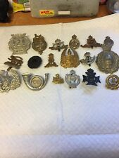LOT 2 OF 18 MIXED MILITARY BADGES