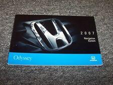 2007 Honda Odyssey Navigation System Owner Owner's Operator Manual LX EX 3.5L V6