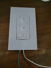 Modern Forms F-WC Wall Mount 6 Speed Smart Ceiling Fan Control - White