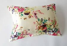 HIGH QUALITY 100% Mulberry Silk Pillowcase Thick 25 Momme Silk Slip  Floral