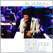 """AL JARREAU """"AL JARREAU AND THE METROPOLE ORKEST - LIVE""""  CD NEU"""