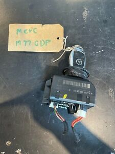 2011 MERCEDES C W204 IGNITION SWITCH LOCK WITH 1 KEY - A2079052600(AUTO GEARBOX)
