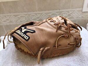 """Mizuno GXC-26 Global Elite 33"""" Baseball Softball Catchers Mitt Right Hand Throw"""