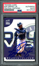 Ken Griffey Jr. Autographed Signed 2000 Pacific Card Mariners PSA/DNA 84137526