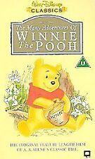 Winnie the Pooh Animation/Anime VHS Films