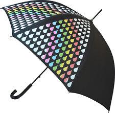 Blooming parapluies Changement De Couleur Stick Parapluie-Rainbow