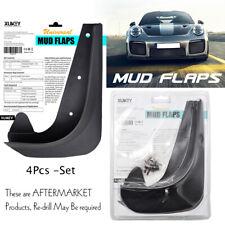 Front Rear Universal Mudguards Mud Flaps Splash Guards Mudflaps 4pcs-Set