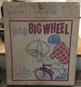 Vintage Stelber Bicycle Steering Wheel Handlebar.