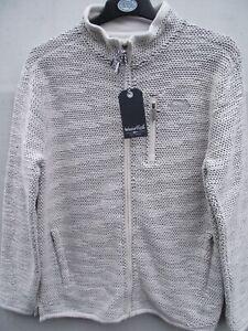 Weird Fish. Transom Ecru Tech Macaroni Sweatshirt Jacket Top. Medium RRP £80